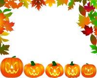 Het frame van Halloween Stock Afbeeldingen