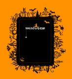 Het frame van Halloween voor uw ontwerp