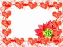 Het frame van harten royalty-vrije illustratie