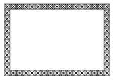 Het frame van het art deco Royalty-vrije Stock Fotografie