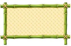 Het Frame van het bamboe Stock Afbeelding