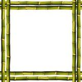 Het frame van het bamboe Stock Foto's