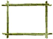 Het frame van het bamboe royalty-vrije stock foto's