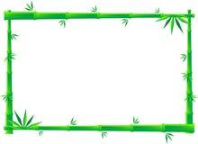 Het Frame van het bamboe Stock Foto