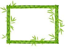 Het frame van het bamboe Royalty-vrije Stock Foto