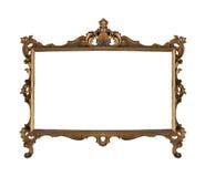 Het frame van het brons stock foto's