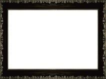 Het frame van het brons met rozen Stock Afbeelding