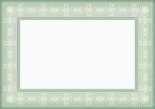 Het frame van het certificaat Royalty-vrije Stock Foto