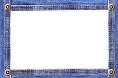 Het frame van het denim Stock Foto's