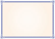Het frame van het diploma Royalty-vrije Stock Foto's