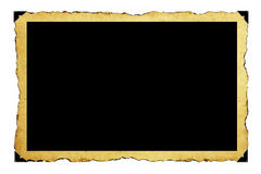 Het frame van het document Stock Afbeelding