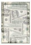 Het frame van het geld Stock Foto's