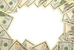 Het frame van het geld Stock Foto
