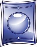 Het frame van het glas vector illustratie