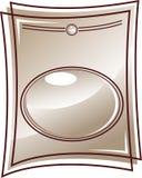 Het frame van het glas stock illustratie