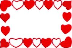 Het frame van het hart Royalty-vrije Stock Foto