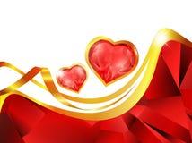 Het frame van het hart Stock Afbeelding