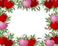 Het frame van het hart Vector Illustratie