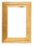 Het frame van het hout Stock Afbeelding