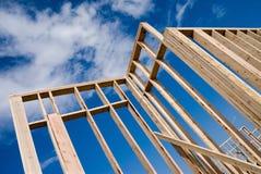 Het frame van het huis Stock Afbeelding