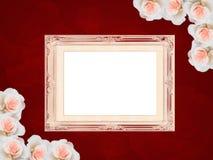 Het frame van het huwelijk Stock Foto