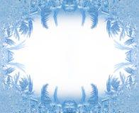 Het frame van het ijs stock foto's
