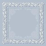 Het frame van het kant Royalty-vrije Stock Foto