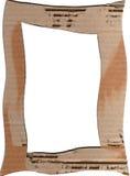 Het frame van het karton Stock Foto's