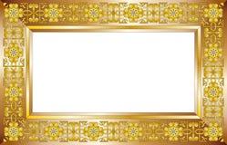 Het frame van het koper Stock Fotografie
