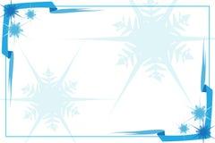 Het frame van het kristal Stock Afbeeldingen