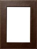 Het frame van het leer Stock Foto