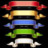 Het frame van het lint dat met het aanpassen van lengte 2 wordt geplaatst Royalty-vrije Stock Fotografie