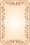 Het frame van het malplaatje Stock Afbeelding