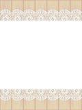 Het frame van het malplaatje ontwerp voor kaart Stock Fotografie