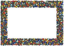 Het Frame van het marmer Stock Afbeeldingen
