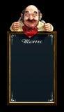 Het Frame van het menu Royalty-vrije Stock Foto