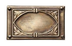 Het frame van het metaal Royalty-vrije Stock Afbeeldingen