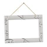 Het frame van het metaal met koord stock foto