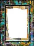 Het Frame van het penseel Stock Fotografie