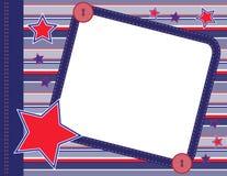 Het frame van het plakboek Royalty-vrije Stock Fotografie