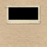 Het Frame van het Plakboek van de nostalgie Stock Foto
