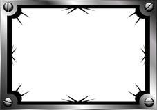 Het frame van het staal vector illustratie