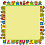 Het frame van huizen Royalty-vrije Stock Fotografie