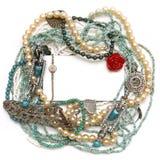 Het frame van Jewelery stock afbeeldingen