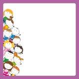 Het frame van jonge geitjes Royalty-vrije Stock Fotografie