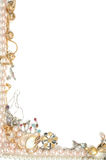 Het frame van juwelen Royalty-vrije Stock Fotografie