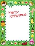 Het Frame van Kerstmis Stock Afbeeldingen