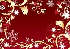 Het frame van Kerstmis. Stock Afbeeldingen