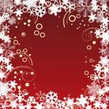 Het frame van Kerstmis. Royalty-vrije Stock Afbeeldingen
