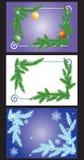 Het frame van Kerstmis. Stock Foto's